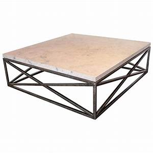 marble limestone transitional quotxquot base coffee table for With coffee table bases for sale