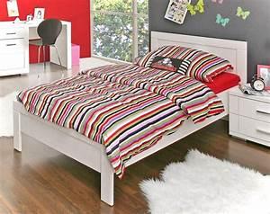 Betten 90 X 200 : jugendbett snow bett 90 x 200 cm einzelbett in wei matt ~ Bigdaddyawards.com Haus und Dekorationen