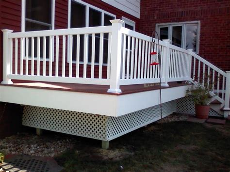 genovations decking and railing heartland deck and fence serving peoria bloomington