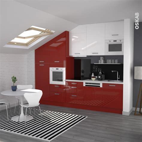 cuisine oskab meuble de cuisine angle bas stecia demi lune