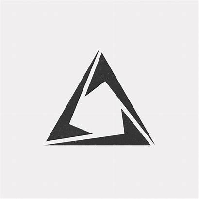 Geometric Tattoo Triangle Symbols Minimal Designs Shapes