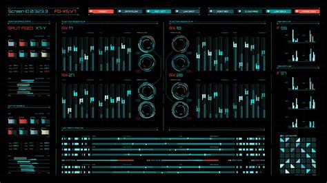 HUD Screentron UI by Hramovsky
