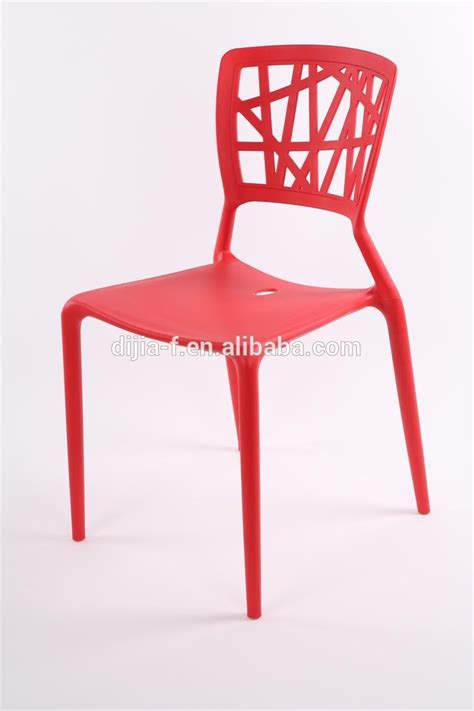 wholesale cheap bistro white plastic chair in dining
