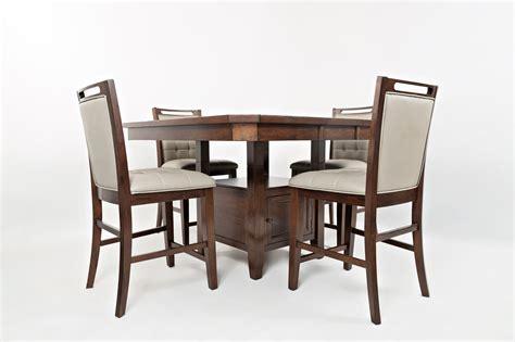 kitchen table with storage base jofran manchester high low table with storage base