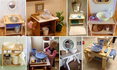 Eltern Vom Mars Der Montessori Waschtisch  Einige Ideen