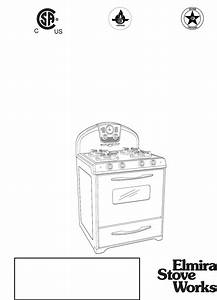 Elmira Stove Works Range 1956 User Guide