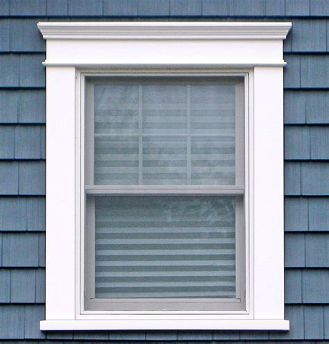 Exterior Vinyl Window Sill by Best 25 Pvc Window Trim Ideas On Diy Exterior