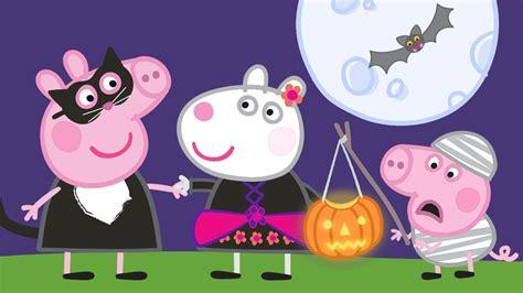 Świnka Peppa 🎃 Halloweenowe Przebieranki 🎃 Bajki Po Polsku  Peppa Po Polsku Youtube