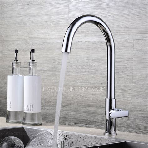 Simple Cold Water Copper Kitchen Sink Faucet On Sale