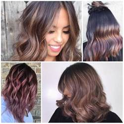 Mauve Hair Color Trends 2017