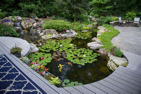 Aquascape Chicago by Ecosystem Ponds Pond Construction Company Chicago Il