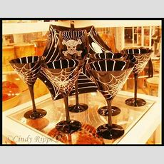Art In Entertaining By Cindy Rippe Halloween Dinnerware