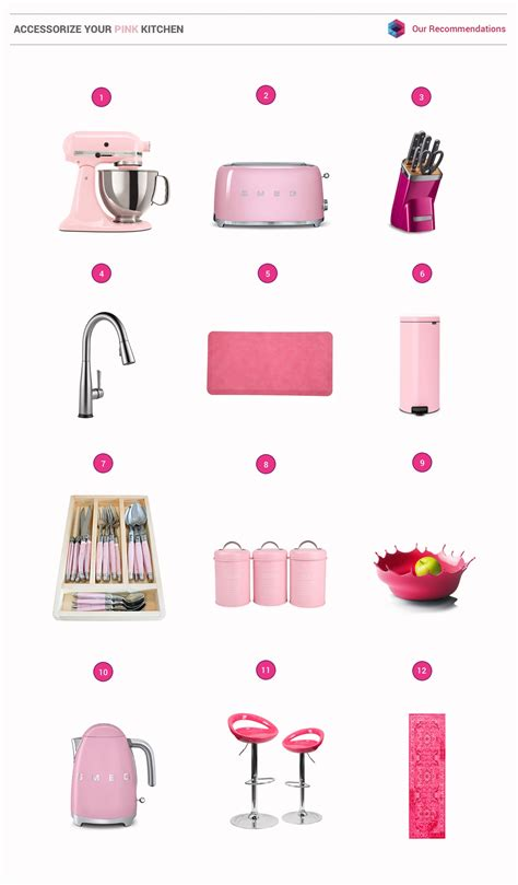 Pink Kitchen Design Ideas Inspiration Tips Photos Accessories 51 inspirational pink kitchens with tips accessories to