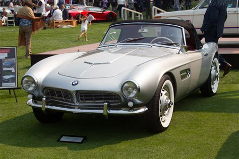 Bmw 507 Roadster by Bmw 507 Roadster Chassis 70110 Entrant Phil White
