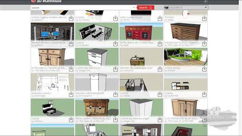 hygena cuisine 3d beautiful tuto sketchup modlisation duune maison