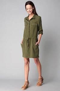 robe kaki femme With robe saharienne kaki femme