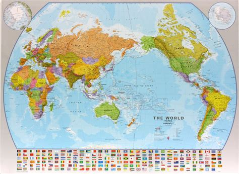 Grande Carte Du Monde En Anglais by Carte Murale Plastifi 233 E Grand Format Monde Politique