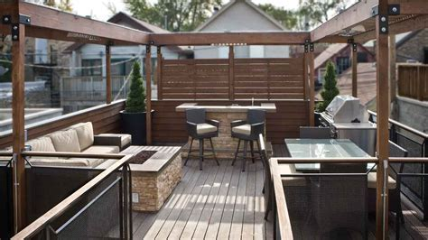 Logan Square Rooftop Deck ? Premier Construction of Illinois