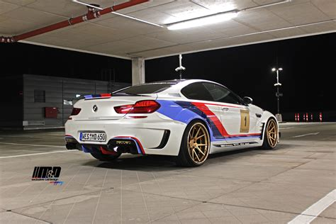 Bmw M6 Gt3 Street Legal Doppelganger By M&d. Yes, It Exists