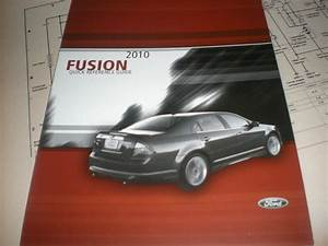 2010 Ford Fusion Factory Quick Reference Owners Manual