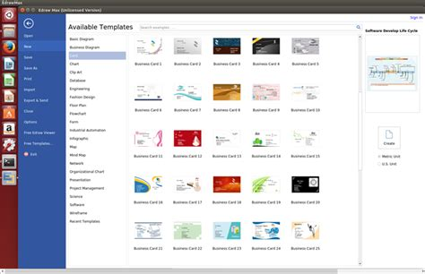 card software  linux  cards   templates