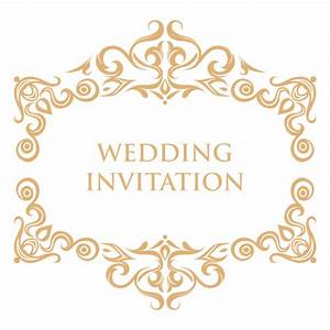wedding invitation frames png wwwimgkidcom the image With wedding invitations template png