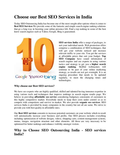 Organic Seo Services by Best Seo Services Top Seo Services Top Seo Company