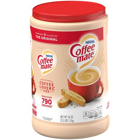 My last purchase the color was like beige. Coffee-Mate The Original Powdered Non-Dairy Coffee Creamer ...