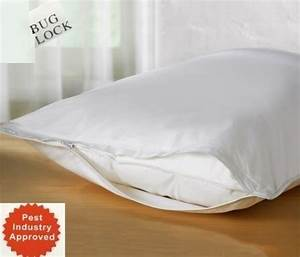 premium bed bugs pillow protector a set of 2 pillow With bed bug mattress and pillow protectors