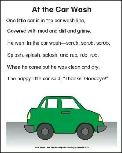 car wash song preschool transportation theme preschool 402   1e709242a3d1cf123345cf58a41efb02