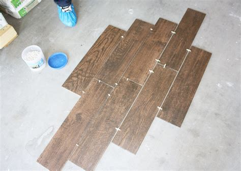 tile flooring layout wood grain tile flooring that transforms your house the construction academy