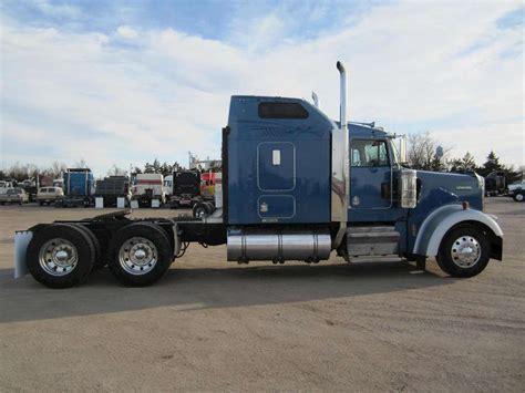 w900l kenworth trucks 2005 kenworth w900l sleeper truck for sale 921 000 miles