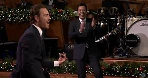 WATCH: Michael Fassbender and Jimmy Fallon's epic air ...