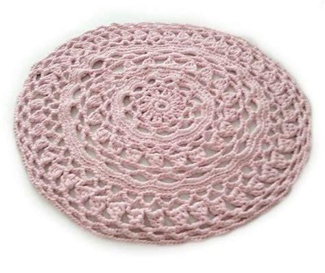 rond vloerkleed crochet baby roze cm vloerkleed