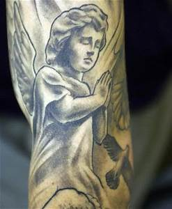 Little praying angel tattoo - Tattooimages.biz