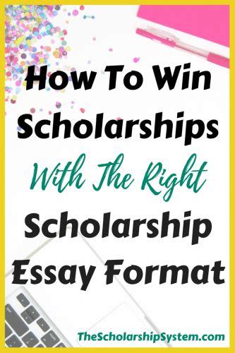 win scholarships    scholarship essay