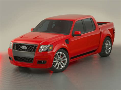 Ford Sport Trac Adrenalin by 2005 Ford Sport Trac Adrenalin Concept Conceptcarz