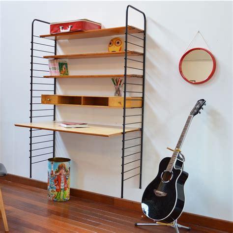 bureau string bureau étagère string vintage