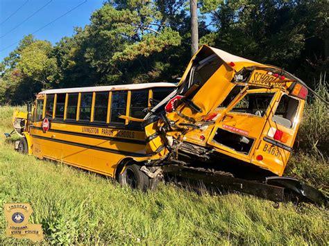 Child Taken To Hospital After Crash Involving School Bus