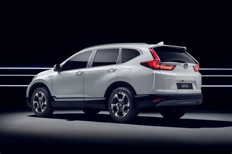 Hybridised Honda Suv New Crv Hybrid Prototype Hits