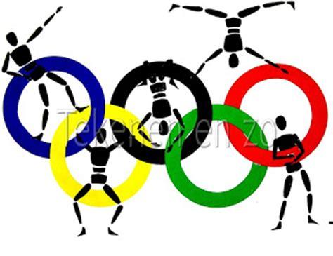tekenen en zo olympische sporters