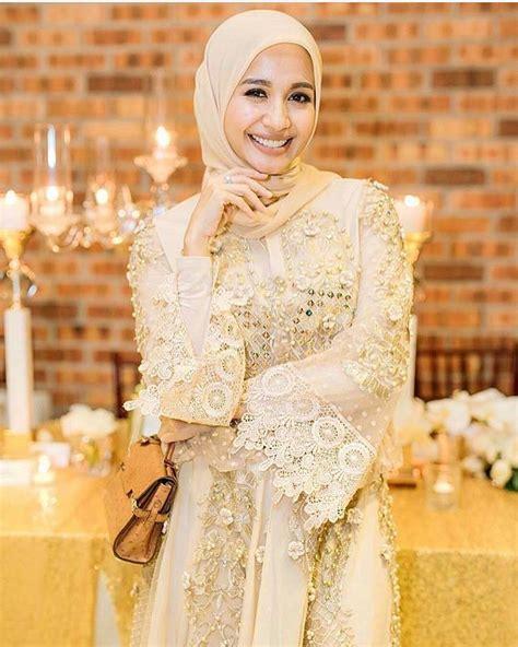 desain cantik gaun muslimah   acara pesta