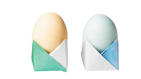 origami easter egg cup    easy