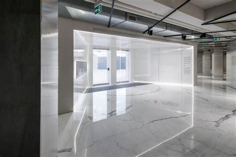 accomplished   design  exhibition showroom spaces italian architect marco porpora