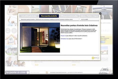 la porte a cote webdesign site la porte 224 c 244 t 233 apparence la baule