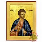 Silas Apostle Byzantine Icon Saint Wooden Holy