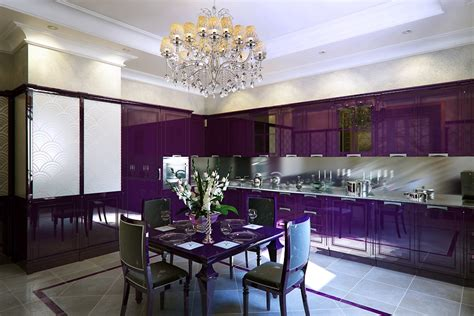 Gorgeous Luxury Purple Dining Room Chairs  Dining Chairs