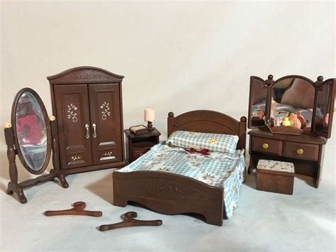 calico critters bedroom set calico critters sylvanian families bedroom furniture ebay