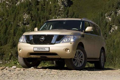 nissan patrol  larger crossover