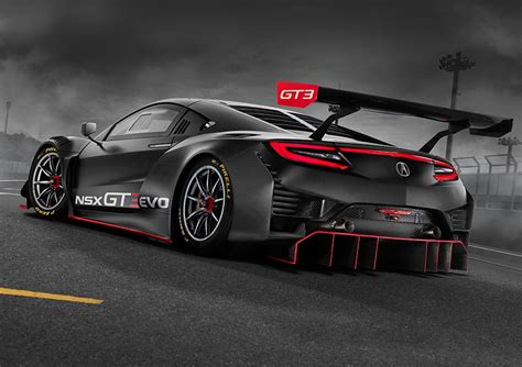 2018 acura nsx gt3 evo announcement honda motorsports